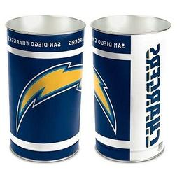 SAN DIEGO CHARGERS ~  Official NFL 15 Inch Wastebasket Trash