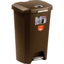 Hefty Hefty 12.2 Gal Select Step on Wastebasket with Soft Cl