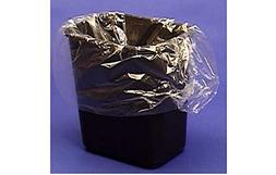 25ct. Semi Frosted Clear 7-10 Gallon Garbage Trash Can BAGS