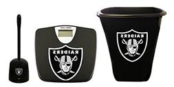3-pc set! Black Digital Scale, 3 Gallon Trash Can and a Toil