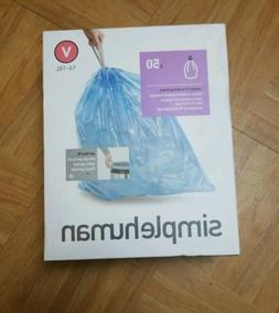 Simple Human Code V Trash Bags Custom Fit Recycling Liners 1