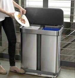 simplehuman 58 Liter/15.3 Gallon Step Can Liner Pocket, Brus