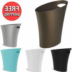 Skinny Sleek and Stylish Bathrooms Trash Small Garbage Can W