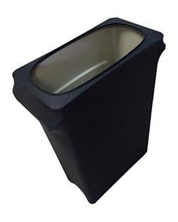 Slim Jim Stretch Spandex Trash Can Cover, 23 Gallons Black