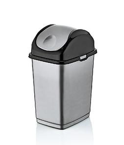 Superio 9.2 Gallon Slim Trash Can
