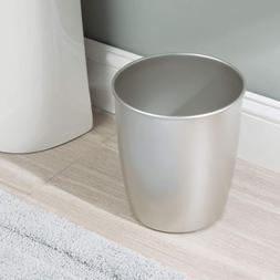Small Kitchen Trash Can Bathroom Office Metal Garbage Contai