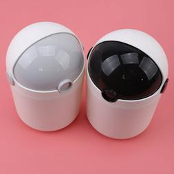 small plastic desktop garbage can waste trash