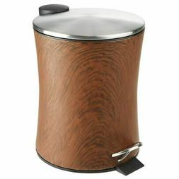 small round 5l step trash can garbage