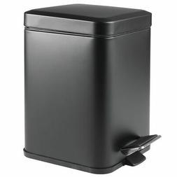 small square step trash can garbage bin