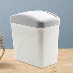 Small Trash Can Desktop Table Garbage Basket Home Office Roc
