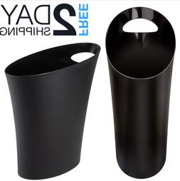 Small Trash Can Kitchen Slim Bathroom Garbage Bin Office Bed