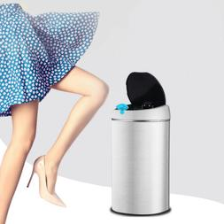 Smart Automatic Trash Can Stainless Steel Touchless Infrared
