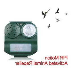 Solar PIR Animal Repeller, Home Garden Lawn Animal Repeller,