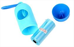 AAIND Sqinans Pill Shape Dog Waste Poop Bag Dispenser Holder