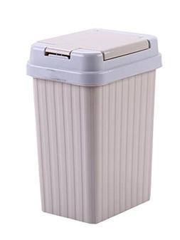 MYtodo Square Elastic Pressing Trash can Living Room 10L Cov