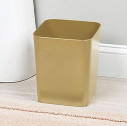 Square Shatter-Resistant Plastic Small Trash Can Wastebasket