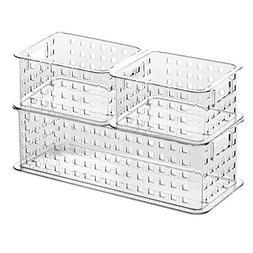 InterDesign Stack & Slide Storage Baskets , Clear