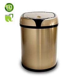 Stainless Steel Automatic Trash Can Touchless Automatic Moti