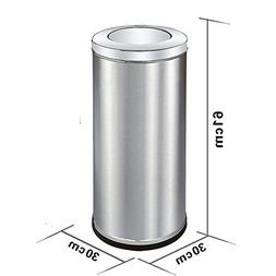 Ging Stainless steel garbage cans,Round square hotel lobby t