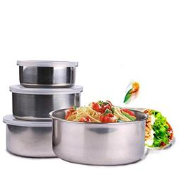 LtrottedJ 5 Pieces of Stainless Steel Durable, Firm and Conv