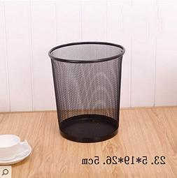 Stainless Steel mesh Trash cans,Without lid Garbage can Offi