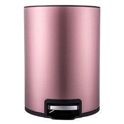 MiniInTheBox 6L Stainless Steel Soft Closure Pedal Bin Stabl