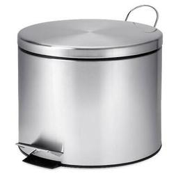 Stainless Steel Step Lift Lid Garbage Can 5 Liter W/ Step Fo