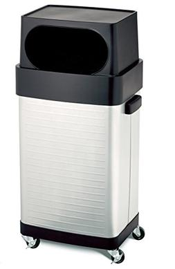 Seville Classics 17-gal. Stainless Steel Trash Bin TRCK15933