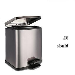 Stainless steel trash can household pedal European creative