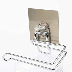 Bazzano Stainless Steel Wall Mounted Paper Towel Holder Toil