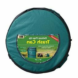 Standard Collapsible Zippered Pop Up Camping Garbage Can Bin