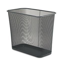 """Rubbermaid WMB30RBK Rectangular Wastebasket 30 Qt. 16"""" x8-1/"""