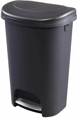 Step-On Lid Trash Can for Home, Kitchen, and Bathroom Garbag