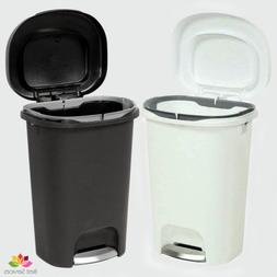 STEP ON TRASH CAN 13 GAL Rubbermaid Kitchen Office Waste Bas