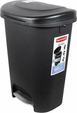 Step on Trash Can 13 Gal Rubbermaid Waste Garbage Bin Basket