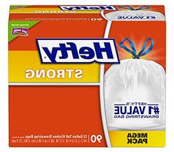 Hefty Strong Kitchen Trash Bags 13 Gallon Garbage Bags 90 Co