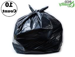 Strong Trash Bags, Wastebasket Receptacle Can Liner, Large 4
