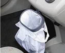 New Auto Garbage Trash Carry Bag Car Sucker Trash Can Rack H