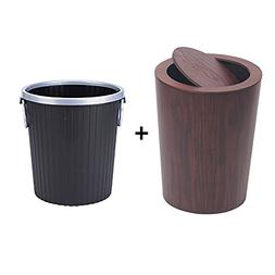 Swing lid garbage can,Creativity Japanese-style Waste bucket