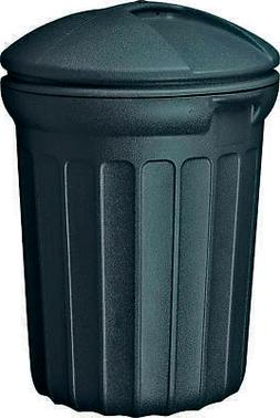 United Solutions TB0007 Round Trash Can, 32 gal, 23-1/2 in L