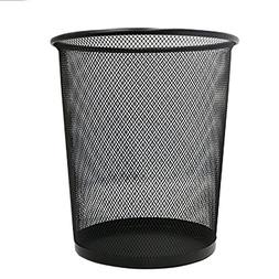 Trash Cans Thicken Anti-embroidered Wire Mesh Office Home Ir