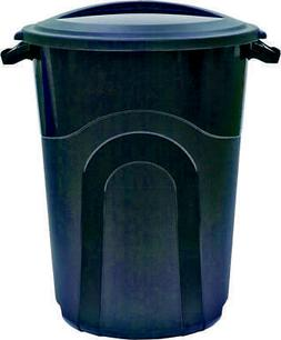 United Solutions TI0019 Round Trash Can, 32 gal, 26.34 in L