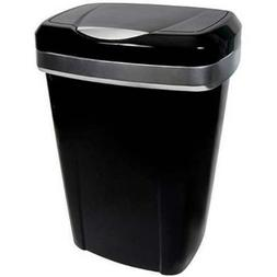 touch lid trash can