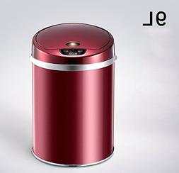 Touch Free Sensor Automatic Touchless Trash Can Kitchen Offi