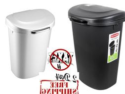 TouchTop Lid Trash Can for Home Kitchen & Bathroom Garbage 1