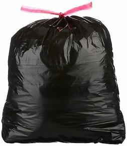 AmazonBasics 30 Gallon Large Trash Bag with Draw Strings, 1.