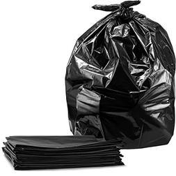 "Trash Bags 40-45 Gallon, 40""W x 46""H, 100/Count, Large Black"