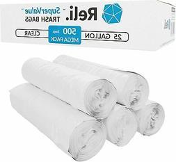 Reli. Trash Bags, 16-30 Gallon  - Star Seal High Density Rol