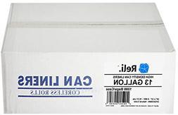 Reli. Trash Bags, 13 Gallon  - Star Seal High Density Rolls