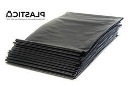 Plastico 55-60 Gallon Trash Bags 3 Mil Contractor Bags  Indi